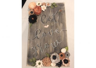 Let-love-grow-felt-flowers