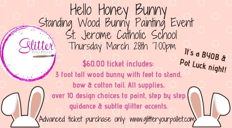 Hello Honey Bunny – St. Jerome School, Chicago