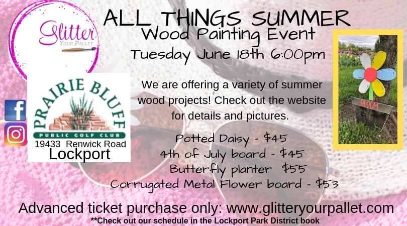 All Things Summer – Prairie Bluff Golf Course – Lockport Park District – Public