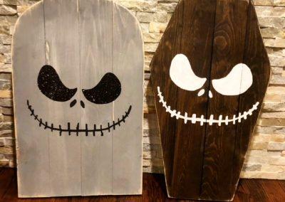 Halloween Tombstone & Coffin Lid