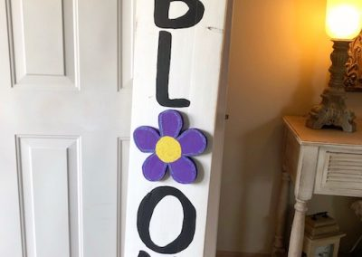 5 foot tall front porch sign