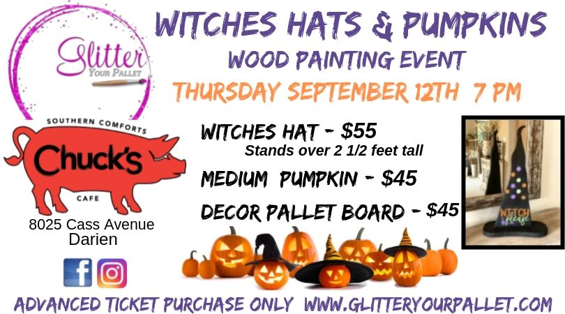Witches Hats & Pumpkins – Chuck's, Darien