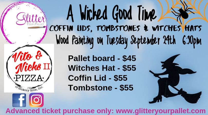 *** SOLD OUT *** A Wicked Good Time – Vito & Nick's II, Hickory Hills – Open To The Public