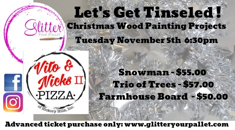 Let's Get Tinsled – Vito & Nick's II   Hickory Hills – Open To The Public