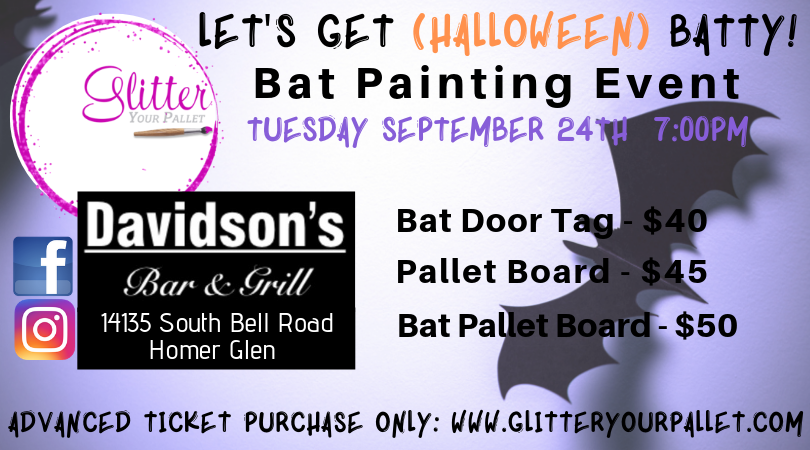 Let's Get Halloween Batty – Davidson's Bar & Grill, Homer Glen – Open To The Public