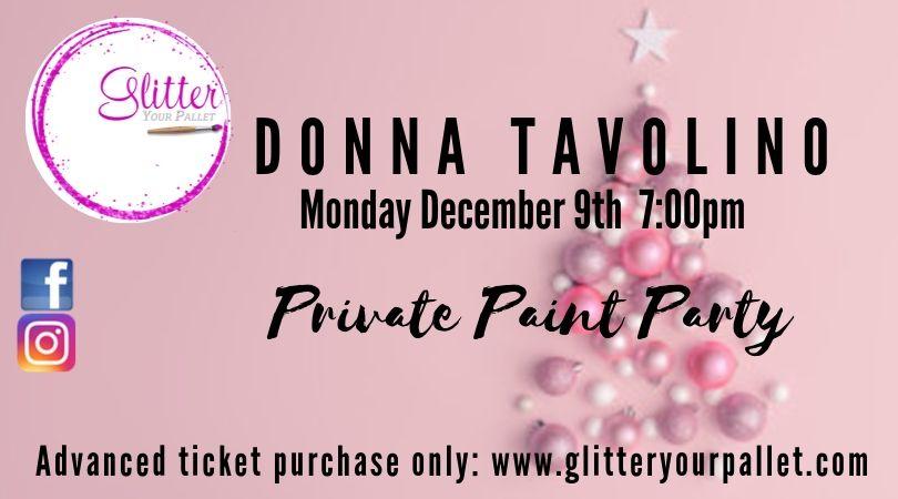 Donna Tavolino Private Party