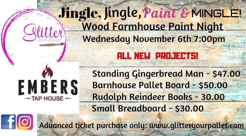 *** SOLD OUT *** Embers Tap House, Lockport – Open To The Public