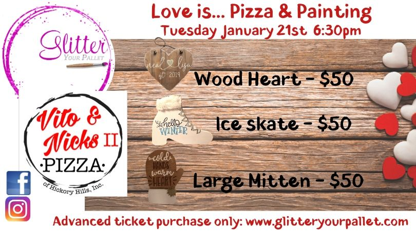 Vito & Nick's II – Love is Pizza & Painting – Open To The Public