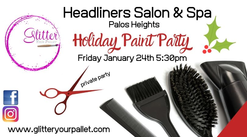 Headlines Salon & Spa – Private Holiday Party