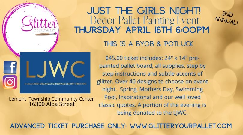 Lemont Junior Women's Club Painting Event – Just The Girls