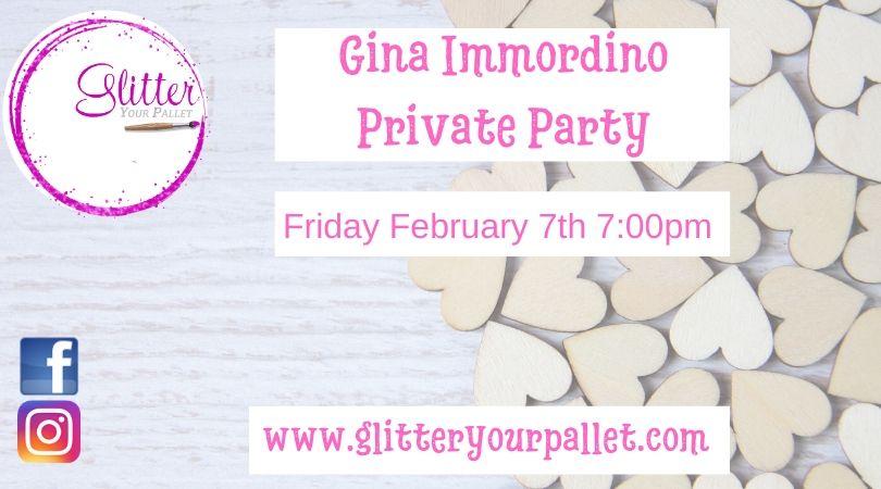 Gina Immordino – Private Party