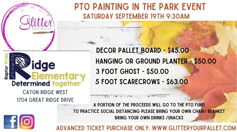 Ridge PTO Painting in the Park – Caton Ridge West