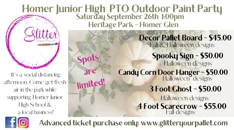 Homer Glen Junior High PTO – Painting In Heritage Park