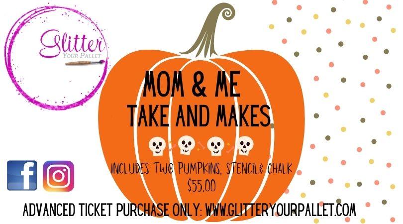 Mom & Me Pumpkin Take & Make (or anyone who loves our wood pumpkins)