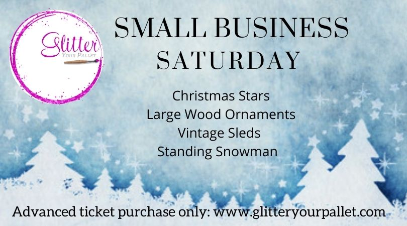Small Business Saturday TAKE & MAKE Christmas Projects – pickup in Homer Glen (no contact necessary)