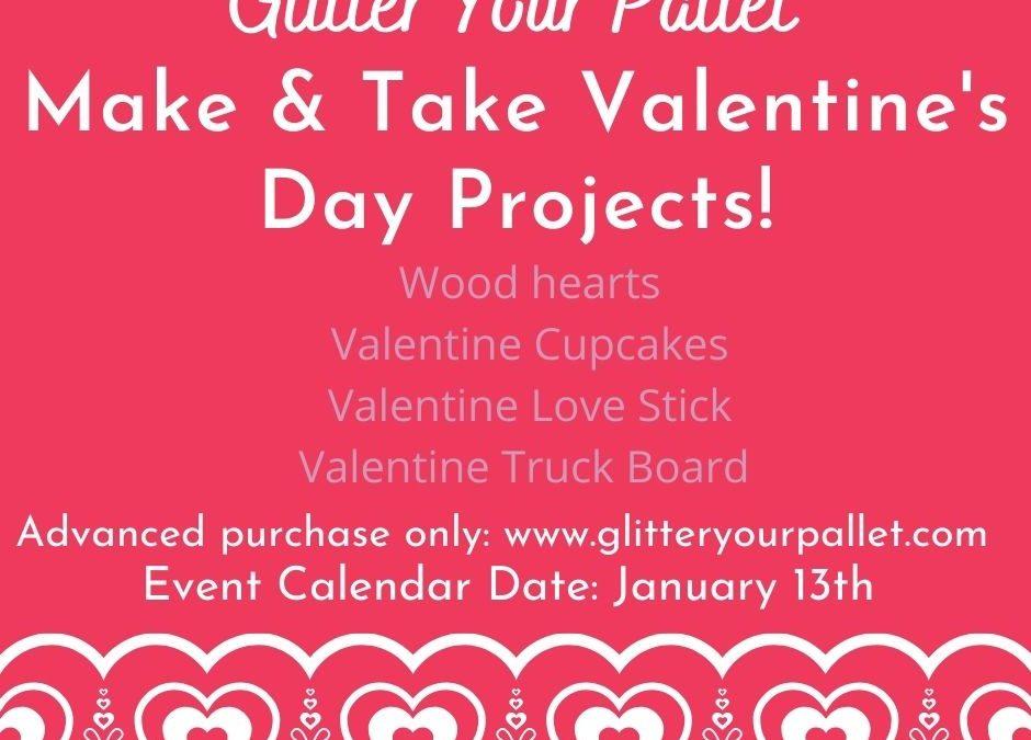 Valentine's Take & Make – Porch Pick Up Homer Glen