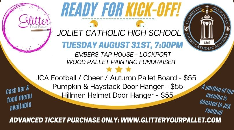 *** SOLD OUT ***  Joliet Catholic Football / Cheerleading Fundraiser Event – Embers, Lockport