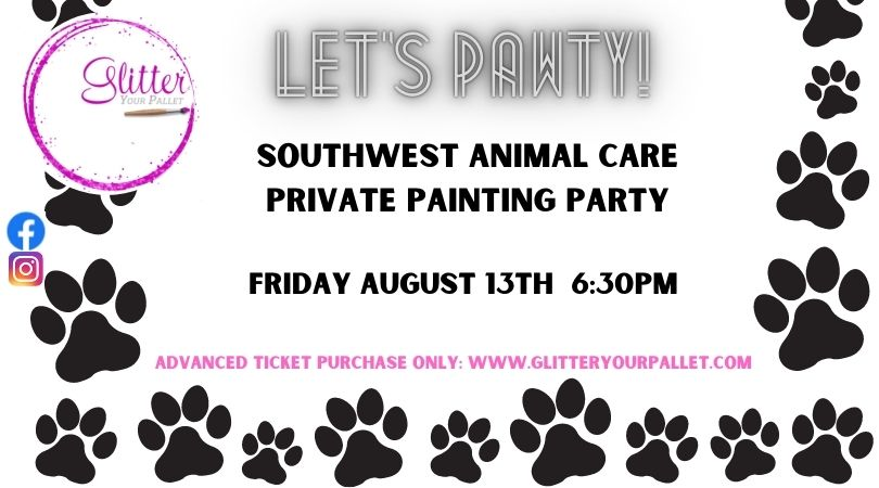 Southwest Animal Care – Private Party – GYP Garden